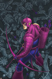 Hawkeye No.7 Cover: Hawkeye Print by Scott Kolins