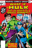 What If No.2 Cover: Hulk, Thunderbolt Ross, Banner and Bruce Print by Herb Trimpe