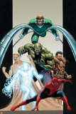 Ultimate Six No.7 Cover: Spider-Man Posters by John Cassaday