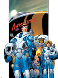 Ultimate Fantastic Four No.15 Cover: Mr. Fantastic Posters by Adam Kubert
