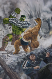 World War Hulk: Front Line No.2 Cover: Hulk and Thing Prints