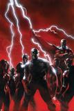 Secret Invasion No.1 Cover: Captain America Posters par Gabriele DellOtto