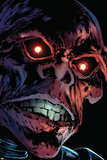 Captain America Reborn No.3 Headshot: Red Skull Prints by Rian Hughes