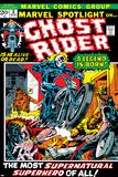 Mike Ploog - Marvel Spotlight No.5 Cover: Ghost Rider Plakáty