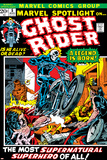 Marvel Spotlight No.5 Cover: Ghost Rider Photo by Mike Ploog