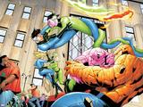 Marvel Knights 4 No.24 Group: Mr. Fantastic Print by Mizuki Sakakibara