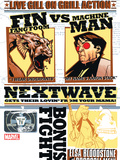 Nextwave No.2 Cover: Fin Fang Foom and Machine Man Posters by Stuart Immonen