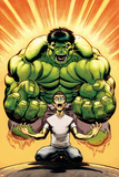 Hulk No.13 Cover: Banner, Bruce and Hulk Posters by Ed McGuinness