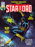 Marvel Preview No.11 Cover: Starlord Prints by John Byrne