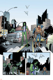 She Hulk No.5 Cover: She-Hulk and Two-Gun Kid Posters by Juan Bobillo