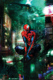 Christopher Shy - Timestorm 2009/2099 No.1 Cover: Spider-Man Plakáty