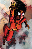 Spider-Woman No.5 Cover: Spider Woman Prints by Alex Maleev