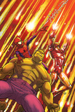Marvel Adventures Super Heroes No.2 Cover: Hulk, Spider-Man and Iron Man Print by Roger Cruz