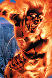 Ultimate Fantastic Four No.3 Cover: Human Torch Posters by Bryan Hitch