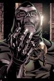 Books of Doom No.1 Headshot: Dr. Doom Fighting Prints by Pablo Raimondi