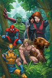 Marvel Adventures The Avengers No.33 Cover: Wolverine Prints by Roger Cruz