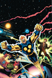 Nova: Origin Of Richard Rider Cover: Nova Poster