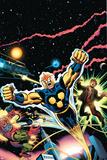 Nova: Origin Of Richard Rider Cover: Nova Poster