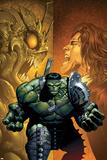 Incredible Hulk No.108 Cover: Hulk, Miek, Jones and Rick Prints by Greg Land