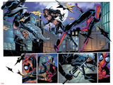 Ultimate Spider-Man No.52 Group: Black Cat, Spider-Man and Elektra Posters by Mark Bagley