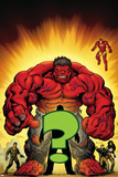 Hulk: Red Hulk Must Have Hulk No.1 Cover: Hulk Posters by Ed McGuinness