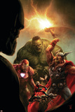 New Avengers No.40 Cover: Hulk, Thor, Iron Man and Ant-Man Photo