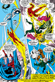 What If No.1 Group: Human Torch, Spider-Man, Mr. Fantastic, Thing, Vulture and Fantasticar Photo by Jim Craig
