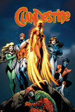 Clandestine 3 Cover: Phoenix Prints by Alan Davis