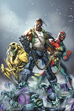 Avengers: The Initiative No.16 Cover: 3-D Man, Ryder and Riot Photo by Mark Brooks