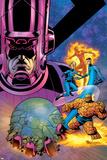 Fantastic Four V1 Cover: Galactus Lámina por Mike Wieringo