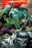 Hulk: Broken Worlds No.2 Cover: Hulk Poster by Paul Pelletier