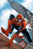 The Amazing Spider-Man No.546 Cover: Spider-Man Posters by Steve MCNiven
