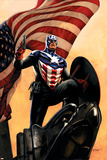 Captain America No.34 Cover: Captain America Print by Steve Epting