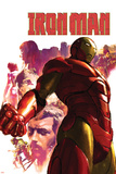 Iron Man No.15 Cover: Iron Man, Hulk, Thor, Stark and Tony Photo by Gerald Parel