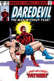Daredevil No.164 Cover: Daredevil Poster van Frank Miller