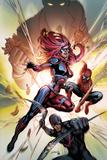 Amazing Spider-Man Presents: Jackpot No.1 Cover: Jackpot, Spider-Man and Boomerang Prints by David Yardin