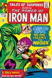 Tales Of Suspense No.55 Cover: Iron Man and Mandarin Fighting Print by Don Heck
