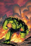 Marvel Adventures Hulk No.1 Cover: Hulk Print by Carlo Pagulayan