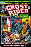 Mike Ploog - Marvel Spotlight Ghost Rider No.5 Cover: Ghost Rider Plakáty
