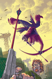Hawkeye No.6 Cover: Hawkeye Poster by Scott Kolins
