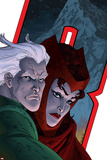 Avengers: Earths Mightiest Heroes No.7 Cover: Quicksilver and Scarlet Witch Prints by Scott Kolins