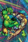 The Incredible Hulk No.91 Cover: Hulk and Godseye Prints by Brandon Peterson