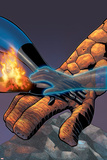 Fantastic Four No.524 Cover: Mr. Fantastic, Invisible Woman, Thing, Human Torch and Fantastic Four Posters by Mike Wieringo