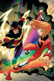 Iron Man And Power Pack No.2 Cover: Lightspeed and Speed Demon Prints by  Gurihiru
