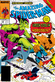The Amazing Spider-Man No.312 Cover: Spider-Man, Green Goblin and Hobgoblin Posters by Todd McFarlane