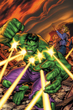 Marvel Adventures Hulk No.16 Cover: Hulk Posters by Tom Grummett