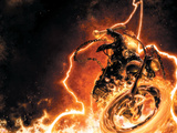 Ghost Rider No.1 Cover: Ghost Rider Plakat