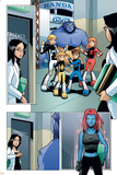 X-Men And Power Pack No.2 Group: Zero-G Posters by  Gurihiru