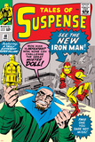 Tales of Suspense No.48 Cover: Iron Man and Mister Doll Photo by Jack Kirby