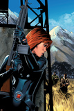 Black Widow No.5 Cover: Black Widow Posters by Greg Land